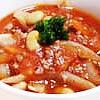 挽肉と大豆のトマト煮