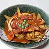 鶏肉のカレートマト煮