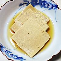 凍み豆腐の煮物